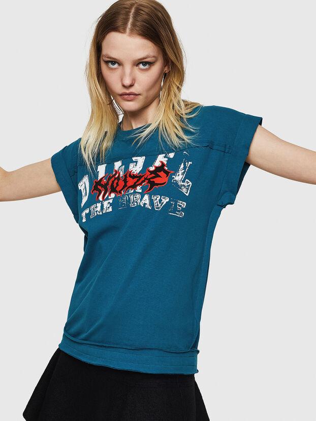 T-JAIDA-A, Bleu Marine - T-Shirts