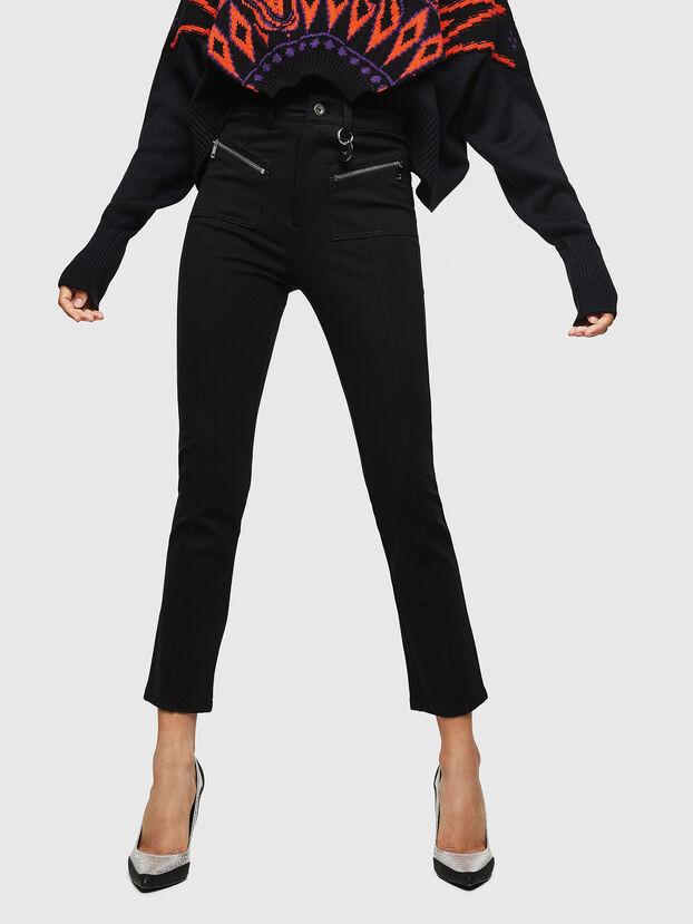 P-NIKIA, Noir - Pantalons