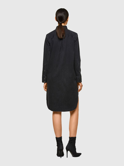 Diesel - DE-BLANCHE, Noir - Robes - Image 2