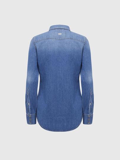 Diesel - DE-RINGY, Bleu Clair - Chemises en Denim - Image 2