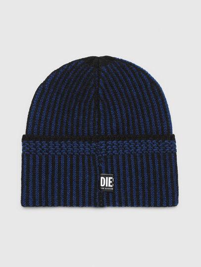Diesel - K-MANNYS, Noir/Bleu - Bonnets - Image 2
