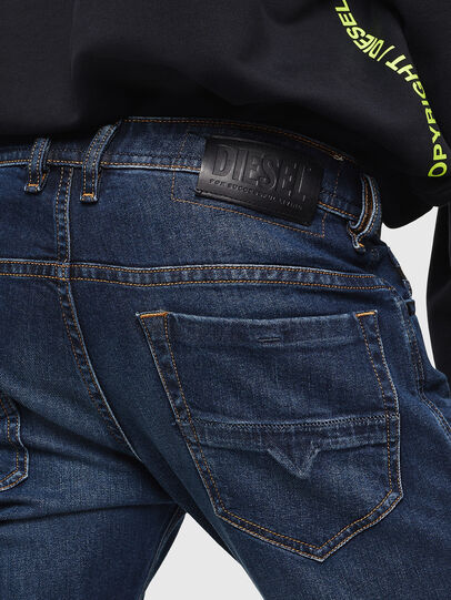 Diesel - Thommer 0096B, Bleu Foncé - Jeans - Image 4