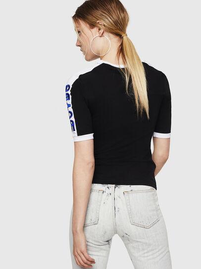 Diesel - T-HEIA-A, Noir - T-Shirts - Image 2