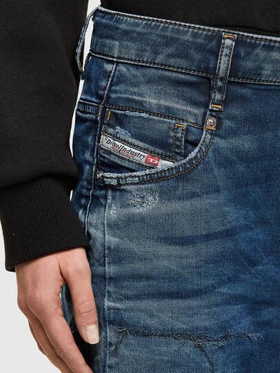 Diesel - FAYZA JoggJeans® 069SZ, Bleu Foncé - Jeans - Image 4