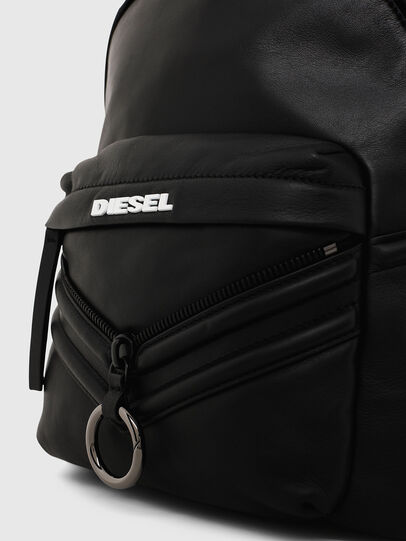 Diesel - LE-ZIPPER BACKPACK, Noir - Sacs à dos - Image 4
