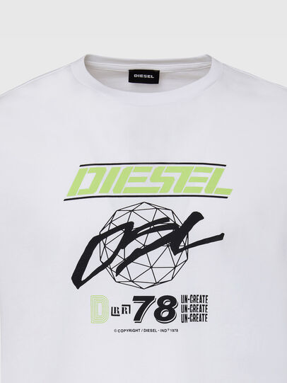 Diesel - T-DIEGOS-K34, Blanc - T-Shirts - Image 3