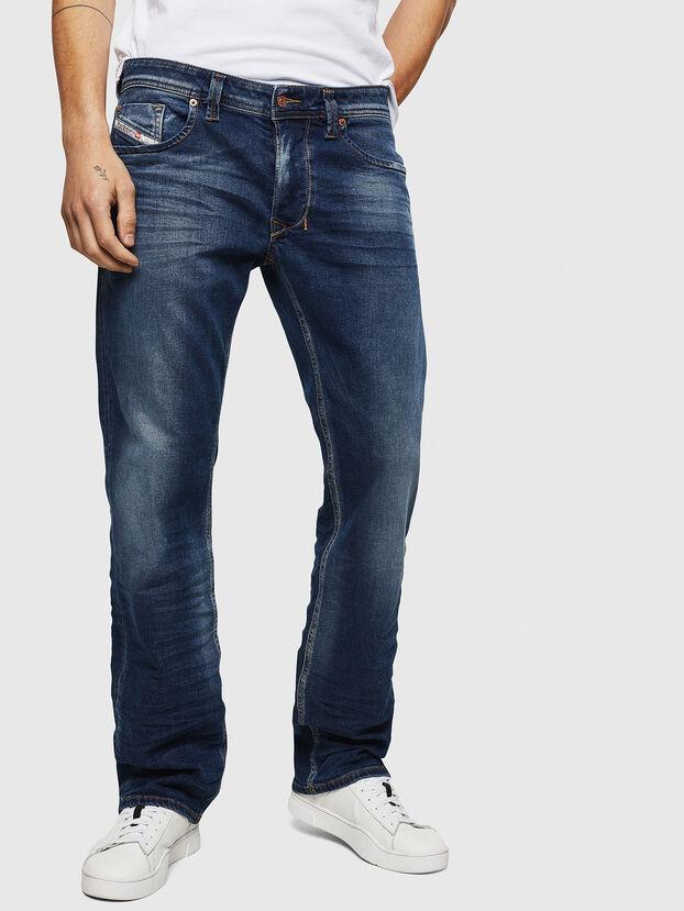 Larkee 083AD, Bleu Foncé - Jeans