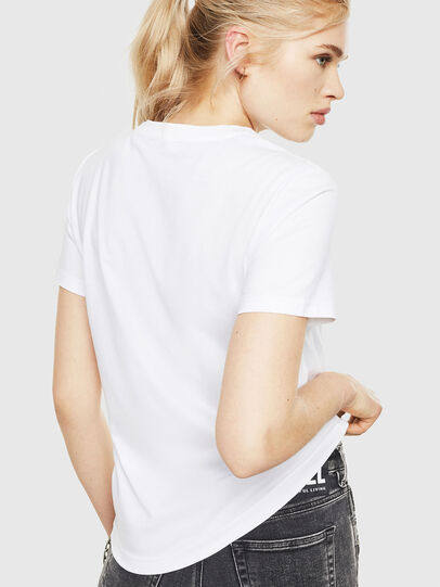 Diesel - T-SILY-WMA, Blanc - T-Shirts - Image 2