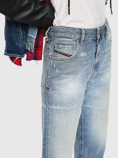 Diesel - D-Reggy 0098V, Bleu Clair - Jeans - Image 3