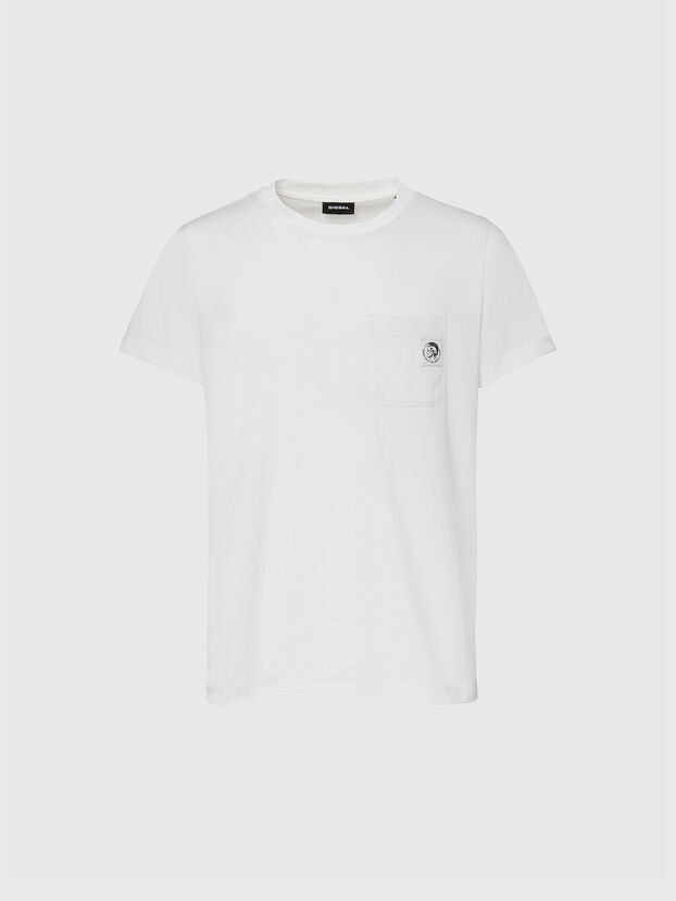 T-WORKY-MOHI, Blanc - T-Shirts