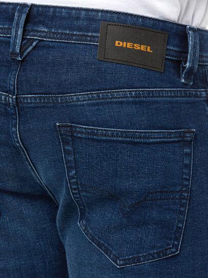 Diesel - Larkee 009ER, Bleu Foncé - Jeans - Image 4
