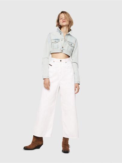 Diesel - D-Luite 069EE, White - Jeans - Image 5