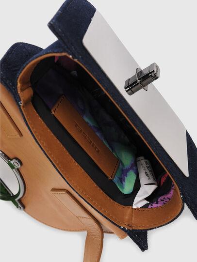 Diesel - DEBIE, Blue/Beige - Crossbody Bags - Image 4