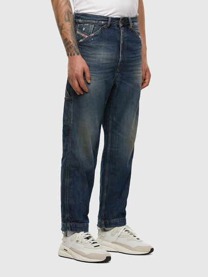 Diesel - D-Franky 009EW, Bleu Foncé - Jeans - Image 5