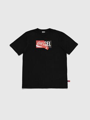 CC-T-JUST-COLA, Noir - T-Shirts