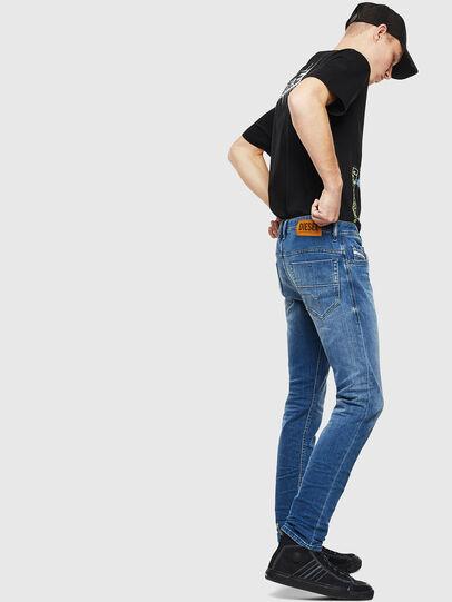 Diesel - Thommer 0097X, Medium Blue - Jeans - Image 4