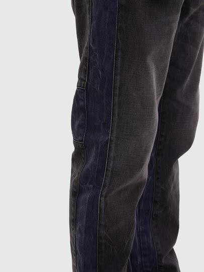 Diesel - D-Slack 009KZ, Noir/Gris foncé - Jeans - Image 5