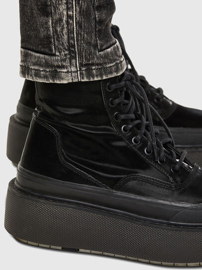Diesel - Babhila 009FH, Noir/Gris foncé - Jeans - Image 6