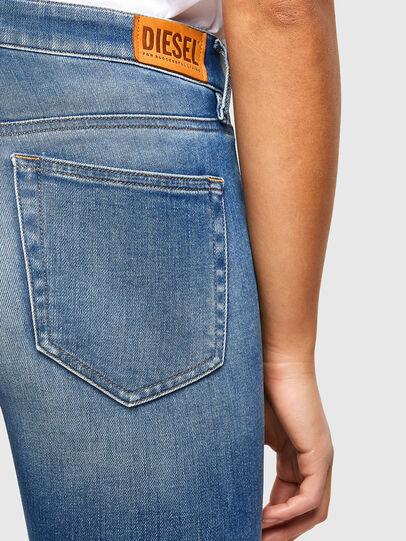 Diesel - Slandy 009QS, Bleu Clair - Jeans - Image 4