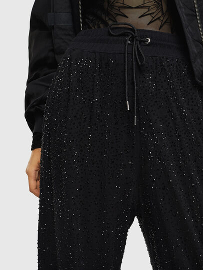 Diesel - P-STRASS-C, Black - Pants - Image 3