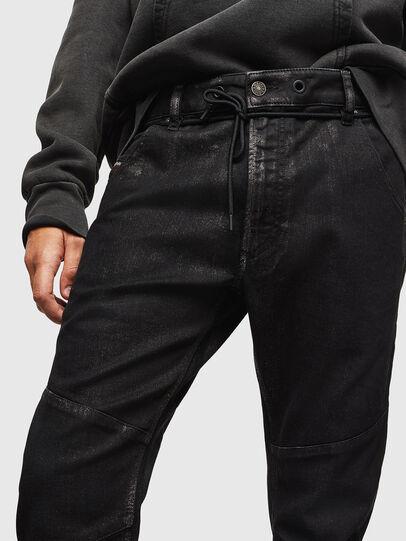 Diesel - D-Luhic JoggJeans 0092W, Noir/Gris foncé - Jeans - Image 3