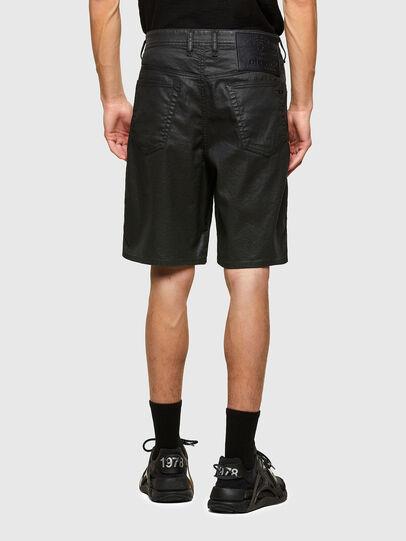 Diesel - D-WILLOH-X-SP JOGGJEANS, Noir - Shorts - Image 2