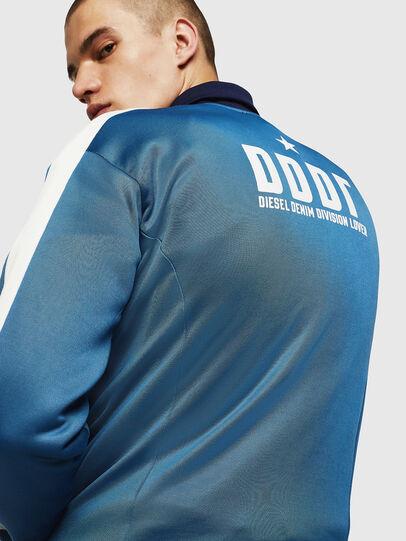 Diesel - S-ELMAR, Brilliant Blue - Sweatshirts - Image 5