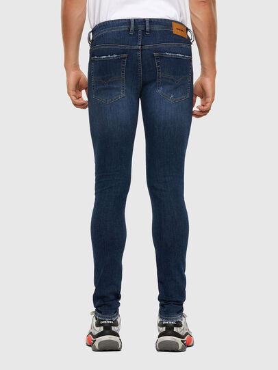 Diesel - Sleenker 009DK, Bleu Foncé - Jeans - Image 2