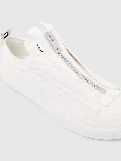 Diesel - S-ASTICO LOW ZIP SP, White - Sneakers - Image 5
