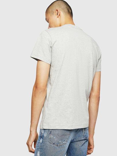 Diesel - T-DIEGO-B6, Gris Clair - T-Shirts - Image 2