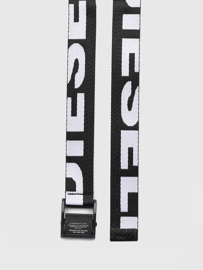 Diesel - B-MASER, Noir/Blanc - Ceintures - Image 3
