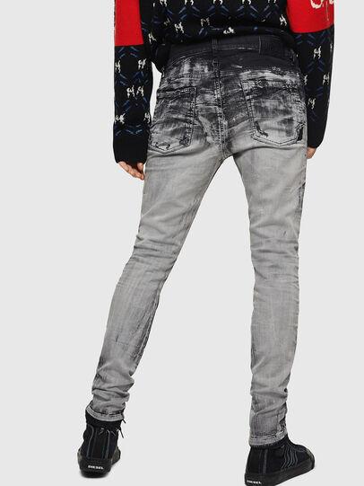 Diesel - D-Reeft JoggJeans 084AH, Noir/Gris foncé - Jeans - Image 2