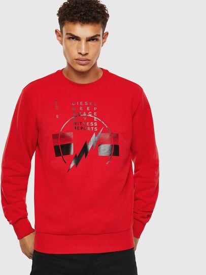 Diesel - S-GIRK-J2, Red - Sweatshirts - Image 1
