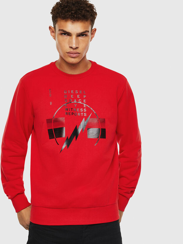 S-GIRK-J2, Red - Sweatshirts