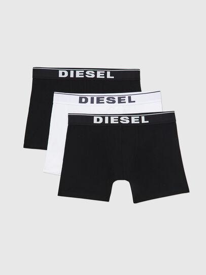 Diesel - UMBX-SEBASTIANTHREEP, Noir/Blanc - Caleçons boxeurs - Image 1