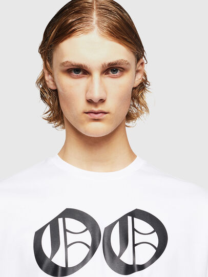 Diesel - TEORIALE-X2, Blanc - T-Shirts - Image 3