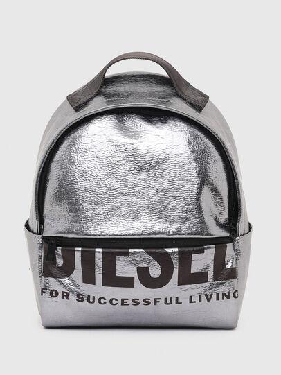 Diesel - F-BOLD BACK FL II, Gris argenté - Sacs à dos - Image 1