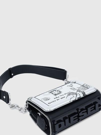 Diesel - CL - YBYS S CNY, Gris argenté - Sacs en bandoulière - Image 7