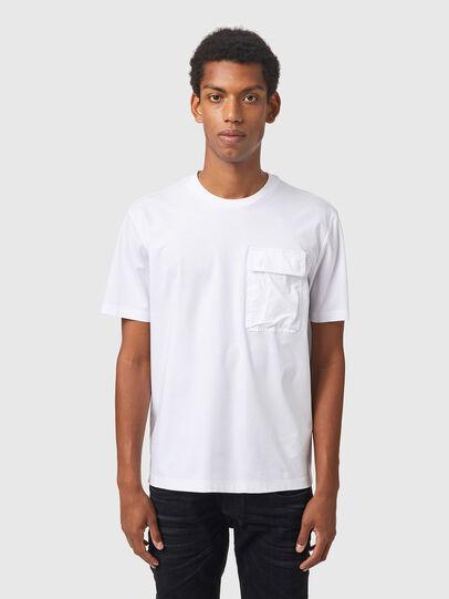 Diesel - T-HAIM, White - T-Shirts - Image 1