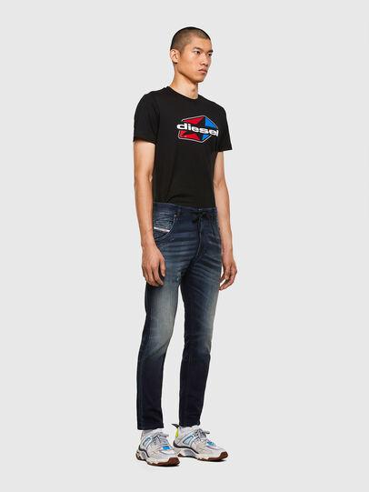 Diesel - Krooley JoggJeans 069QD, Bleu Foncé - Jeans - Image 5
