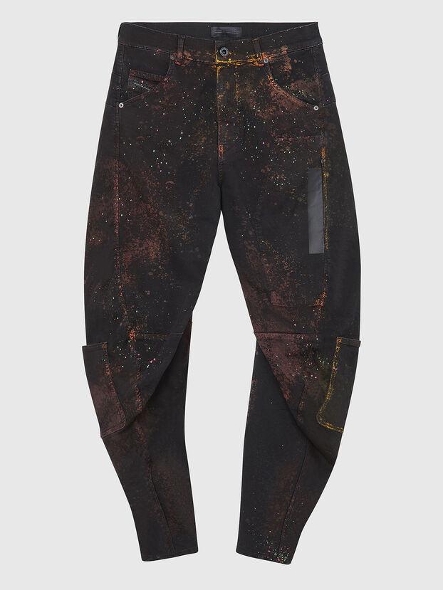 TYPE-2018-NE, Noir/Gris foncé - Jeans