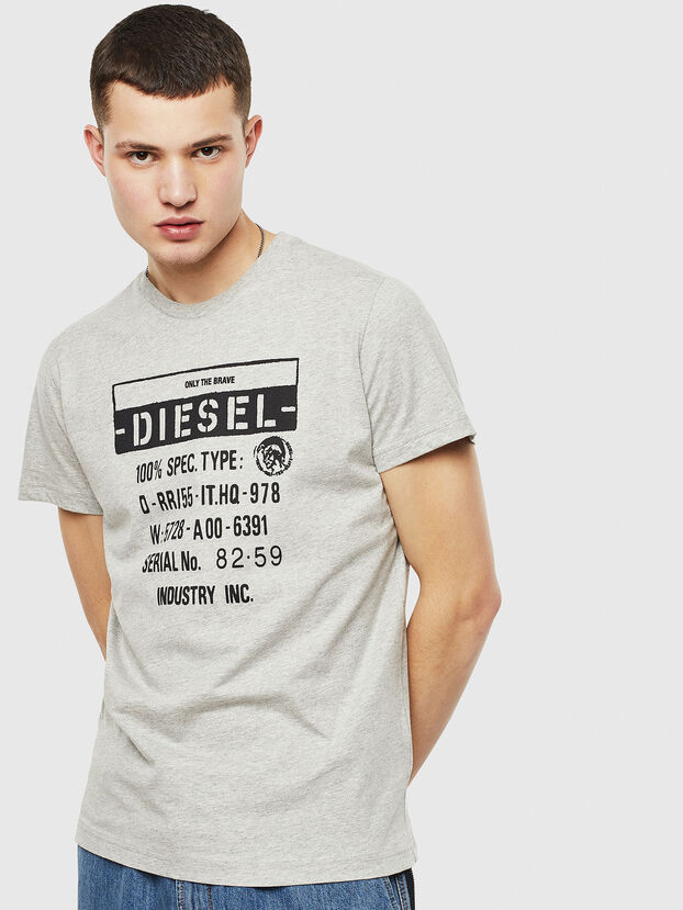 T-DIEGO-S1, Gris - T-Shirts