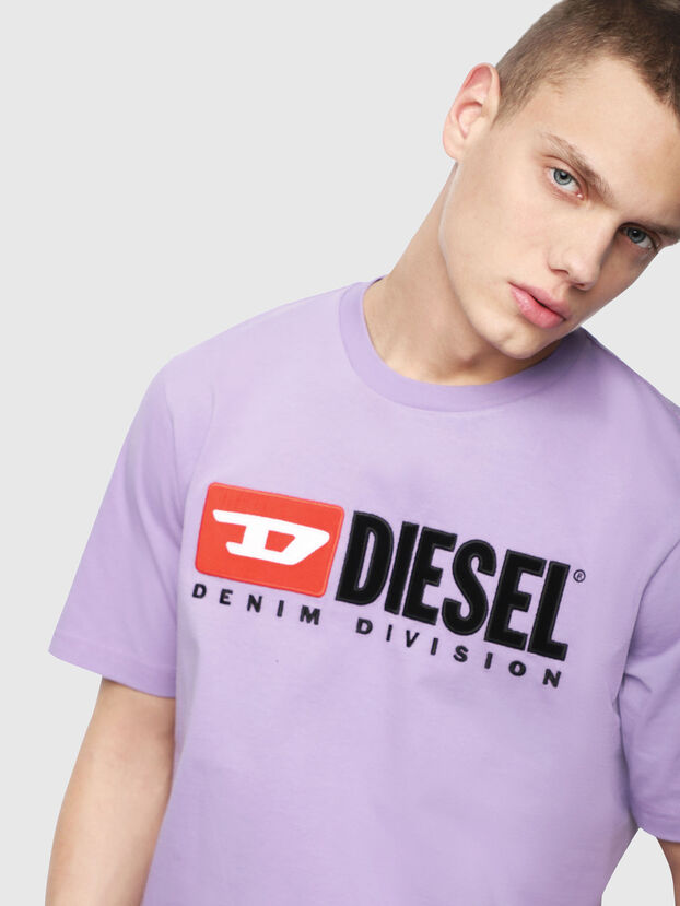 T-JUST-DIVISION, Lilas - T-Shirts