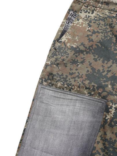 Diesel - D-ONT-HURT-ME, Green Camouflage - Pants - Image 3
