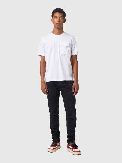 Diesel - T-HAIM, White - T-Shirts - Image 4