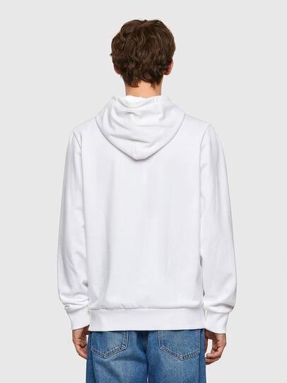Diesel - S-GIRK-HOOD-K21, White - Sweatshirts - Image 2