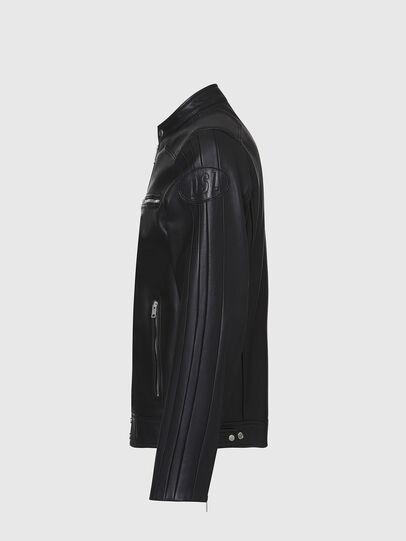 Diesel - L-BOY, Noir - Vestes de cuir - Image 3