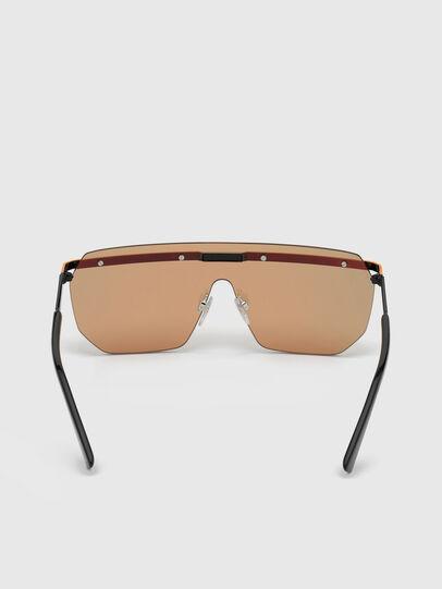 Diesel - DL0259, Orange/Black - Sunglasses - Image 3