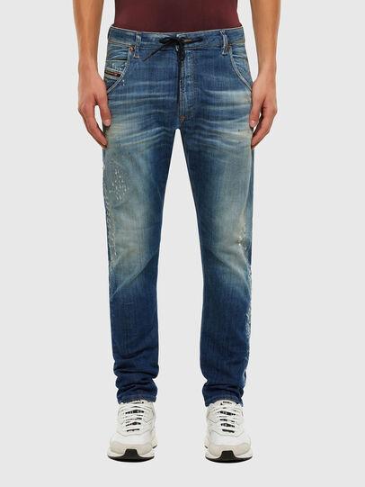 Diesel - Krooley JoggJeans 009NK, Medium Blue - Jeans - Image 1