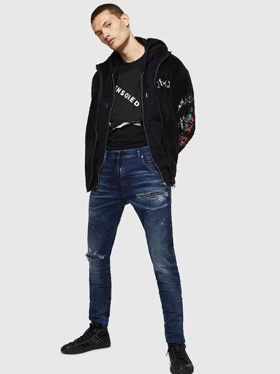 Diesel - Krooley JoggJeans 069JE, Bleu Foncé - Jeans - Image 6